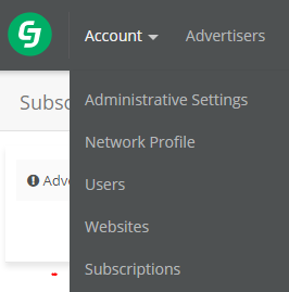 To find a datafeed, go to account and then subscriptions