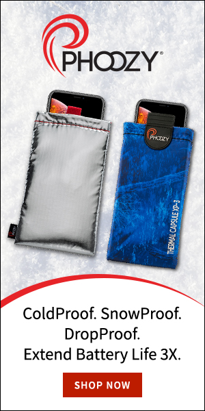 Protect your phone from the elements with PHOOZY
